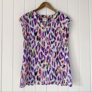 Cabi Feather Flume Blouse